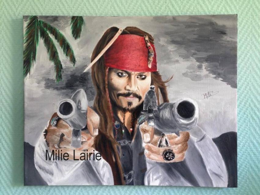 Johnny Depp by Milie